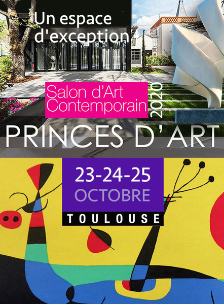 Affiche Salon Princes d'Art Octobre 2020